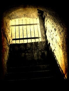 The underground tunnel at Terezin Concentration Camp, NW Czechoslavakia.
