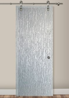 Don't choose an ordinary glass barn door; choose a work of art with San Soucie's art glass barn doors. Learn about our sliding glass barn doors for your home. Sliding Glass Barn Doors, Glass Shower Doors, Glass Doors, Glass Etching, Etched Glass, Art Deco Borders, Fan Coral, Glass Partition, Tree Bark