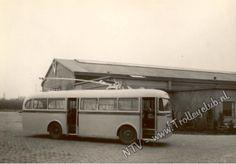 Deze foto toont de na-oorlogse DAF-trolley met elektrische installatie van Smit-Slikkeveer.