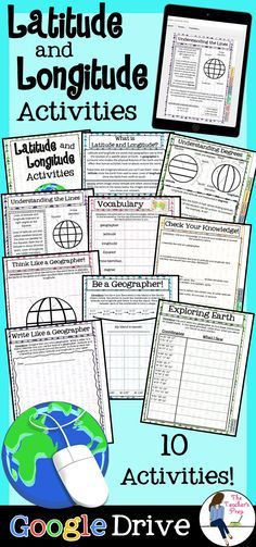 Engaging map skills activities pinterest map skills cardinals engage your students with digital interactive activities to make learning about latitude and longitude fun gumiabroncs Image collections