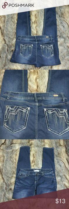 Red Camel Sz 11 Bing Pocket Skinny Jegging Jean Juniors Sz 11 detailed pocket Red Camel stretch skinny Jegging jeans Red Camel Jeans Skinny