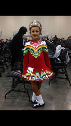 Eire Designs Irish Dance Solo Dress Costume