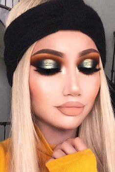 Popular Makeup Ideas with Glitter Shadows picture 5