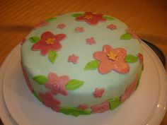 The first cake I ever made.  Way back in 2009.