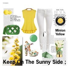 """Keep On The Sunnyside"" by chantelleporter ❤ liked on Polyvore"