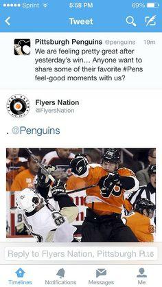 I love Flyers Nation!