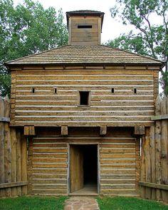Blockhouse, Fort Massac State Park, Metropolis, Illinois