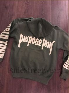 Bieber Khaki Green Purpose Tour - Hoodie