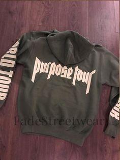 Bieber Khaki Green Purpose Tour - Hoodie
