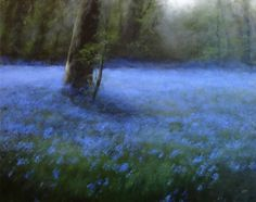 bluebells (Oil paint), Judith Levin