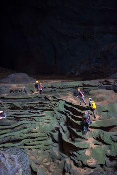 The green gours Hang Son Doong #Cave #SonDoong #Vietnam