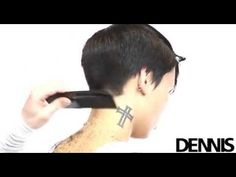 Step by Step Haircut technique by Dennis Rombout 2012 spring | summer collection - YouTube
