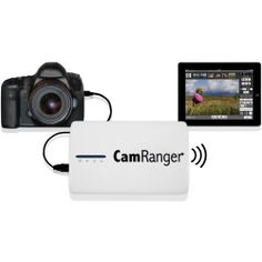 The CamRanger Wireless Transmitter for Select Canon and Nikon DSLR Cameras from CamRanger allows you to wirelessly control your digital SLR and view and share images via your mobile device. Remotely access advanced features, functions and settings, such as live view, intervalometer, bulb mode for shutter, and HDR bracketing, in addition to photo capture, movie recording, shutter speed, aperture, white balance, ISO, metering mode, drive/shooting mode, image format, focus mode…
