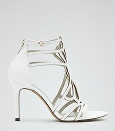 Rica Black/white Print Jersey Dress - REISS