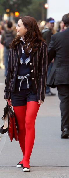 Blair Waldorf uniform- 1X10