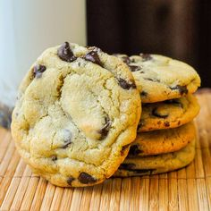 The Best Chocolate Chip Cookies Recipe - soft and chewy with crispy edges and the perfect amount of rich chocolate morsels. I've never had better anywhere.