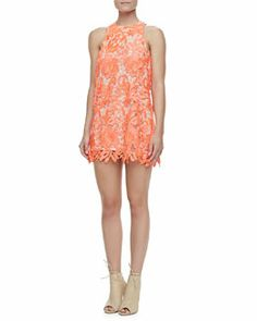 T7LRP Cameo Spellbound Sleeveless Lace Dress