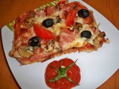 Pizza cu blat din paine, Rețetă Petitchef Stromboli, Calzone, Vegetable Pizza, Food And Drink, Cooking Recipes, Health, Cookies, Diet, Pie