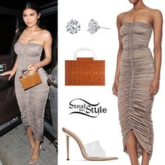 Steal Her Style | Celebrity Fashion Identified | Page 2 Kylie Jenner Short Hair, Ropa Kylie Jenner, Trajes Kylie Jenner, Kylie Jenner Look, Kylie Jenner Outfits, Kendall Jenner, Clubbing Outfits, Summer Outfits, Cute Outfits