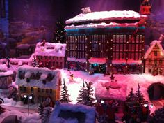 A Christmas window of Stockmann, a department store in Helsinki. 2012.