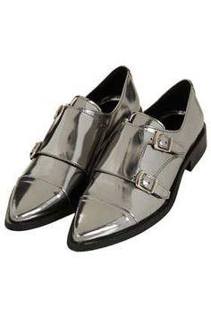Topshop Perpignan Monk Shoe