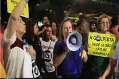 Movimentos sociais dão recado à emissora: Globo, respeite o voto