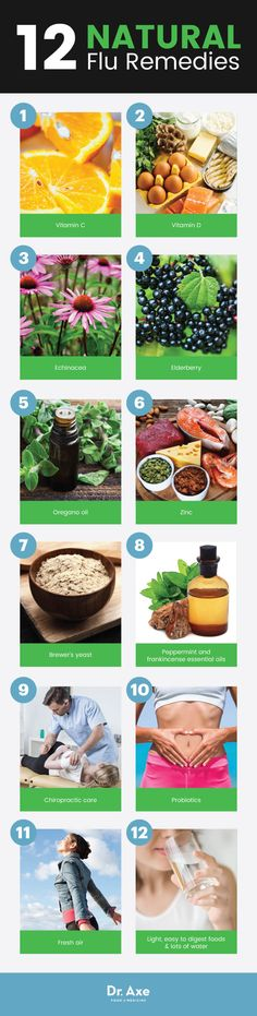 12 flu natural remedies - Dr. Axe
