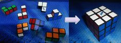 De cubo Soma a cubo Rubik