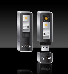 Ignite USB Lighter   Rechargeable Flameless USB Lighter