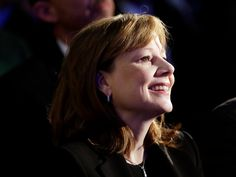 Mary Barra— The CEO of General Motors, Mary Barra, is the first woman to ascend to CEO at a major global automaker.