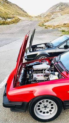 Alfa Romeo Gtv6, Alfa Romeo Giulia, Alfa Gtv, Classy Cars, Cars And Motorcycles, Vintage Cars, Cool Cars, Super Cars, Automobile
