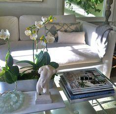 Sofia Coppola home, tablescape