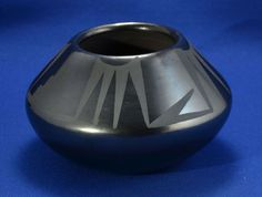 Authentic MARIA MARTINEZ Pueblo Pottery Bowl - Signed Maria and ...