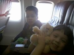 Our flight to a cruise in 2010. My Daddy loved us so much.