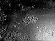 The pyramids and Alien structures on the surface of the Moon in images