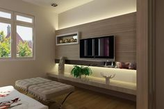 Image result for tv unit design for master bedroom