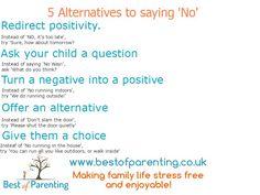 5 alternatives to saying no