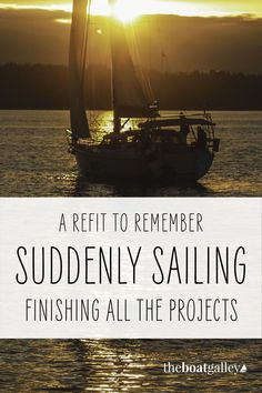 When working on boat projects, it feels like you'll never get done. Here's how we completed a bunch of jobs and got back to sailing. Lady Parts, Boat Projects, Outdoor Restaurant, Catamaran, Scuba Diving, Sailing, Cruise, Mystery, How To Plan