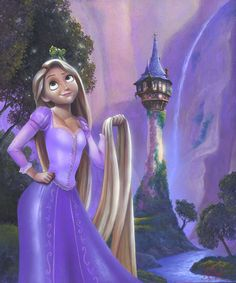 James C Mulligan Chasing Down A Daydreamer From The Movie Tangled Original Acylic on Board Disney Fine Art Original Art Disney Princess Bild, Disney Princess Paintings, Disney Canvas Paintings, Disney Rapunzel, Princess Rapunzel, Princess Zelda, Tangled Rapunzel, Disney Princesses, Flynn Rider