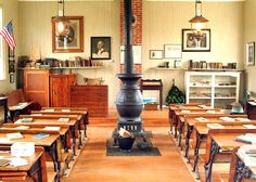 one room schoolhouse | Museums of Worcester County - Mt. Zion One-Room Schoolhouse