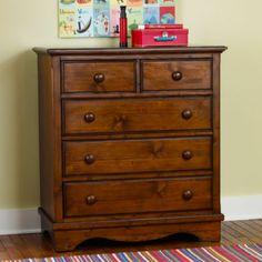 Walden 2-Over-3 Dresser (Chocolate)  | The Land of Nod