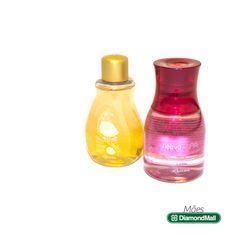 Óleo Bifásico Perfumado Amêndoas e Baunilha - O Boticário.  Nativa SPA Óleo Hidratante Exótico Lichia - O Boticário.