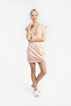 Playa Dress, Sandalwood by Miranda Bennett | #kickpleat #mirandabennett