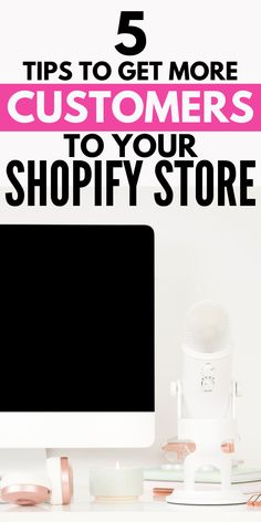 Do you want more customers in your Shopify store/eCommerce or Dropshipping startup? Use these 5 Shopify tips for effective ecommerce marketing for your business. These e-comerce tips and ideas are for beginners and advanced shop owners. E Commerce Business, Small Business Marketing, Online Business, Digital Marketing Strategy, Marketing Ideas, Small Business Entrepreneurship, Legitimate Work From Home, Earn Money Online, Helpful Hints