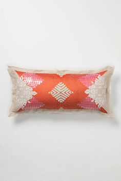 Sailendra Pillow - Anthropologie.com - love the colors - would like to find something in a better price point...
