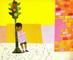 """from """"Whistle for Willie"""" (1964) - Ezra Jack Keats"""