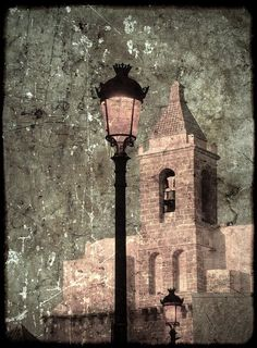 Rota, tal y como yo la veo: Torre de la Iglesia de la O con textura