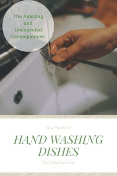Unexpected things that happened when I started hand washing dishes Dish Washer, Kids Board, Washing Dishes, Creative Activities, Family Kids, Best Mom, Hand Washing, Homemaking, Clean House