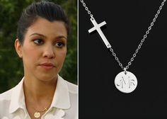 Silver Cross Necklace Mother Day Gift Mommy by ACharmedImpression