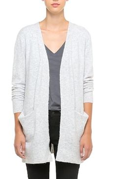 Free shipping and returns on Madewell Ryder Cardigan at Nordstrom.com. A staple layering piece offers a cozy feel, thanks to supersoft yarns in a plush bouclé knit. Front pockets complete the versatile style.